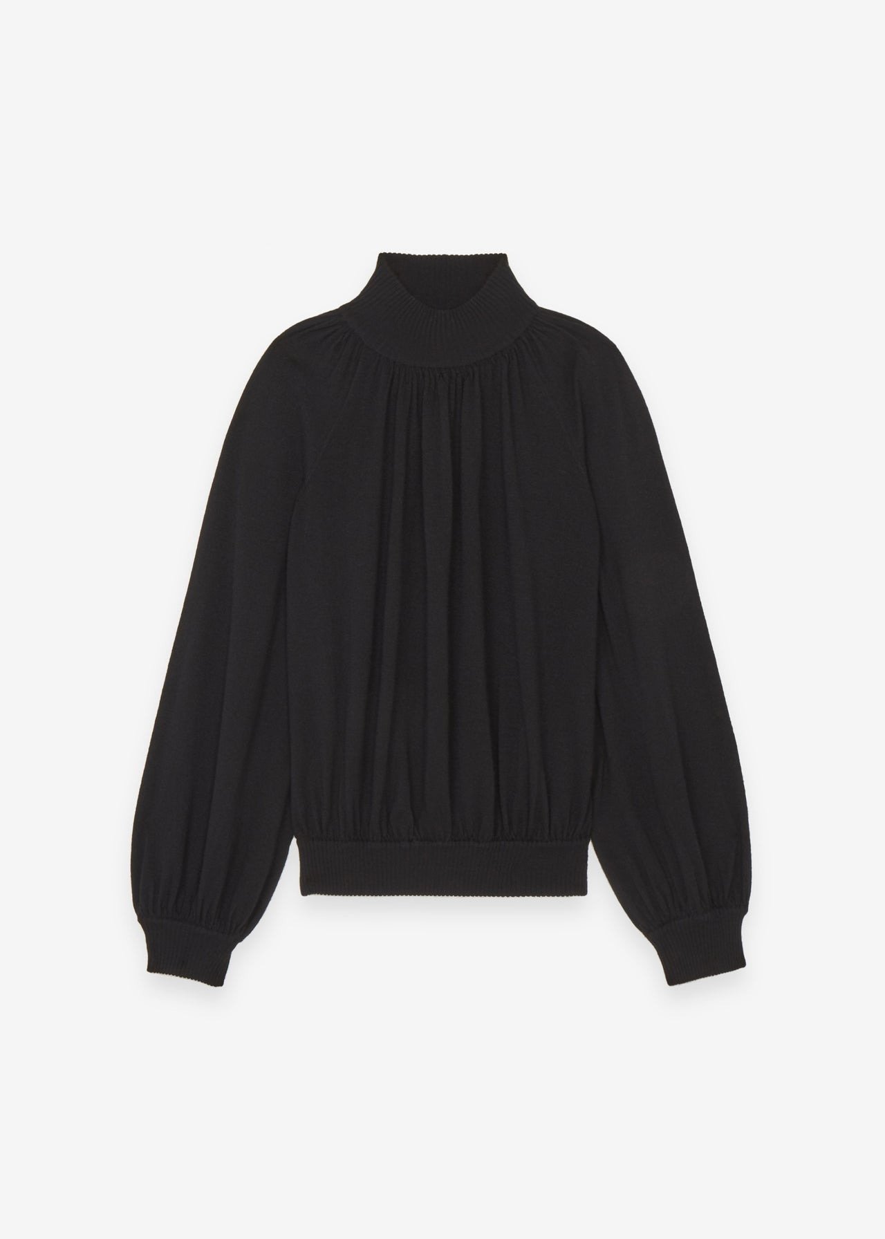 Raglan Mock Neck Sweater - CO Collections