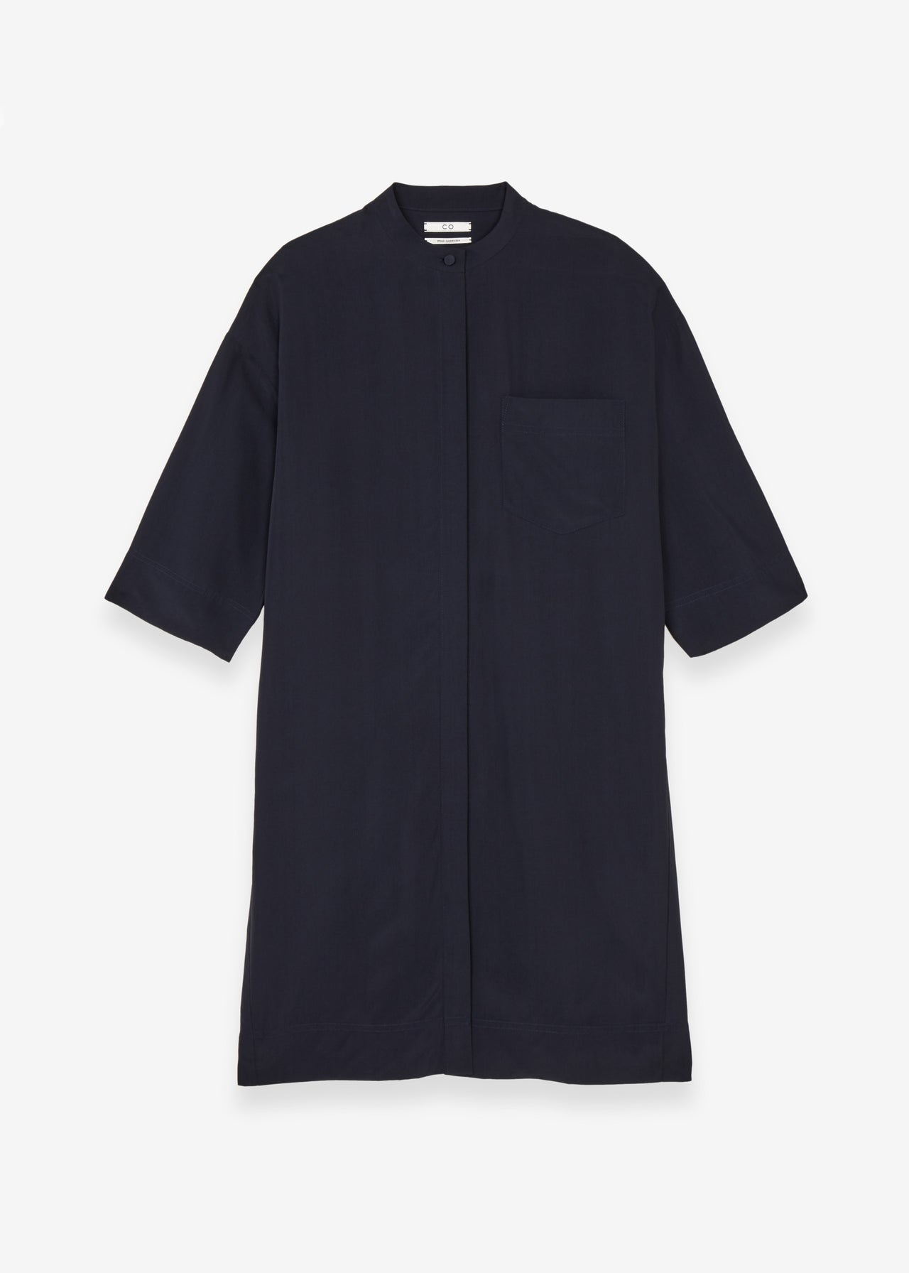 Wide Sleeve Shirtdress - CO Collections