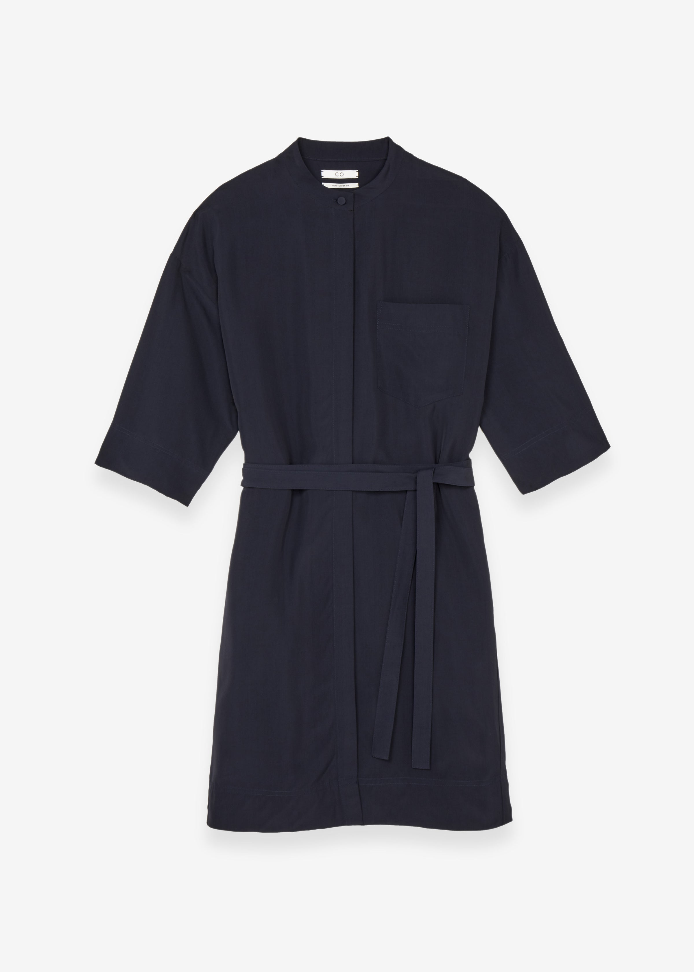 Wide Sleeve Shirtdress