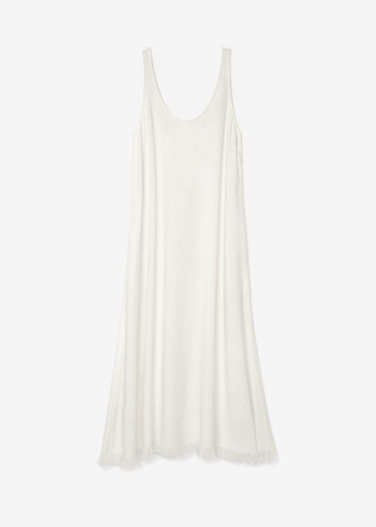 Sleeveless Scoop Neck Dress - CO Collections