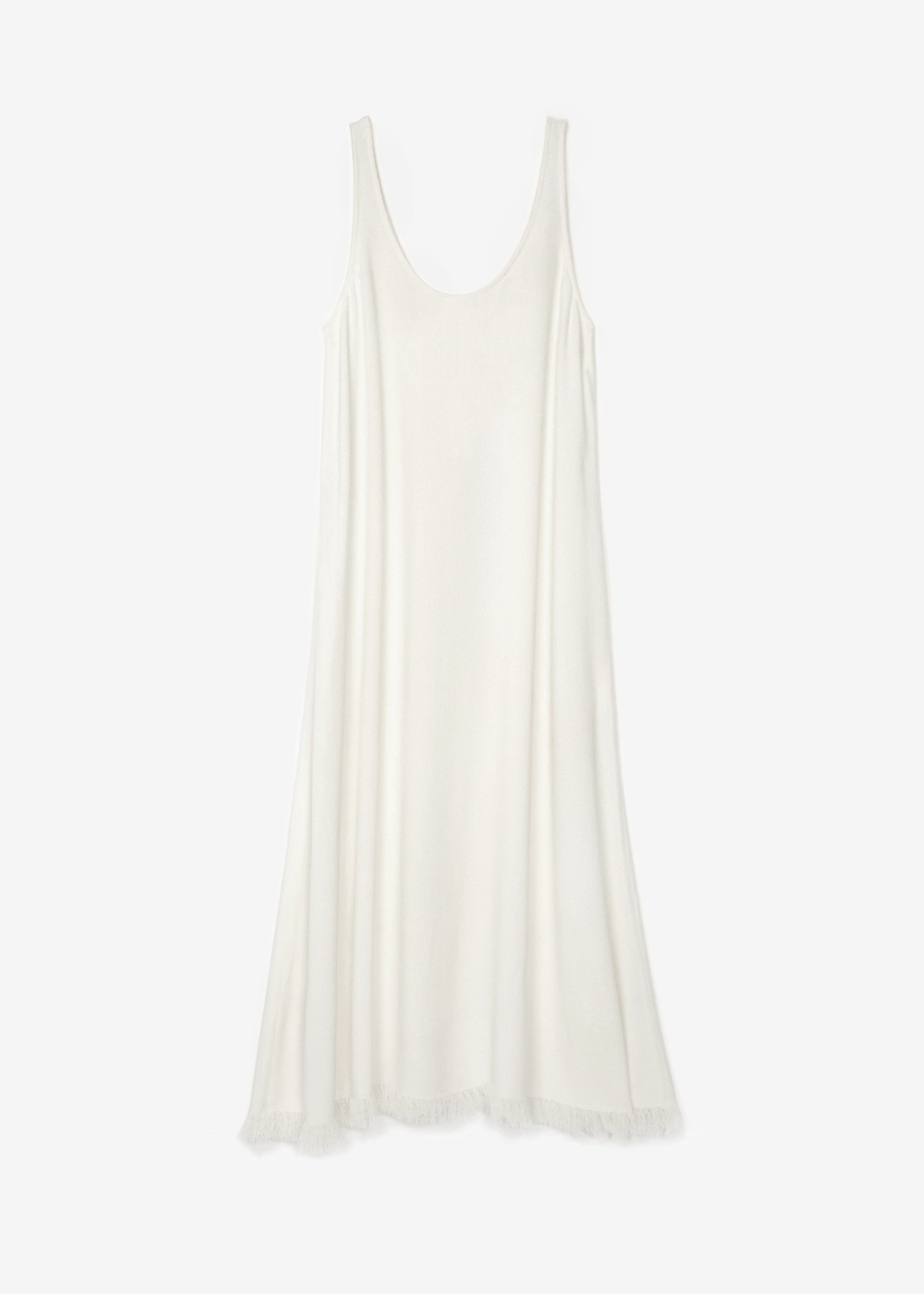 Sleeveless Scoop Neck Dress