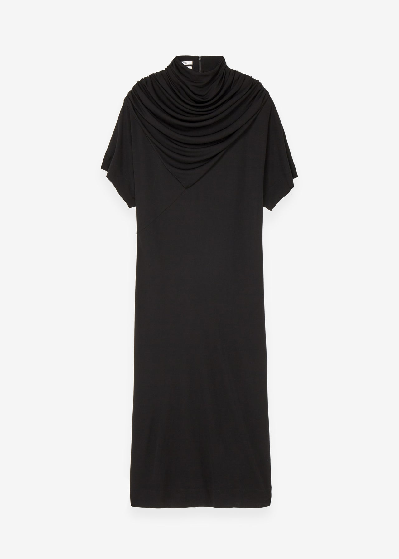 Drape Neck Dress - CO Collections