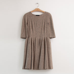 CO - Short sleeve mini dress in taupe