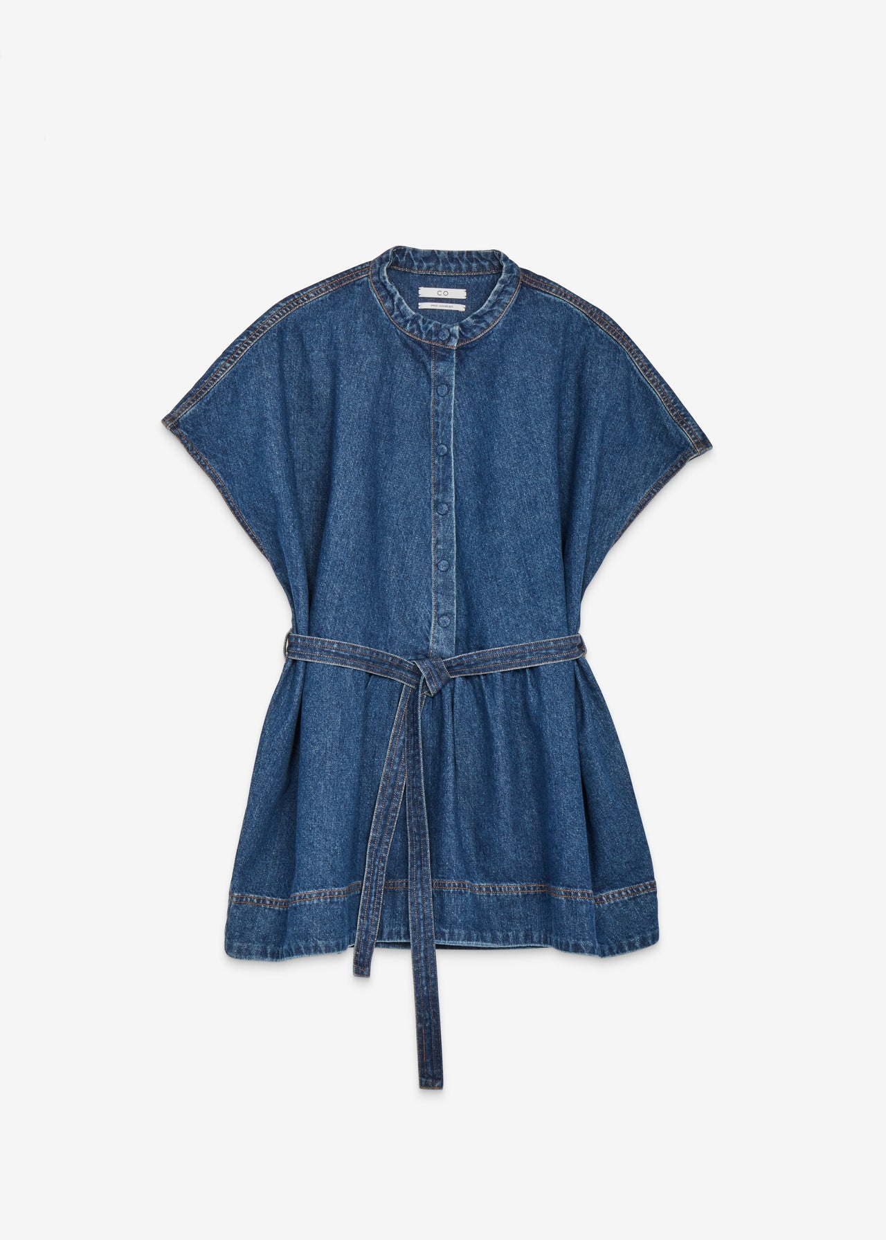 Sleeveless Denim Blouse - CO Collections