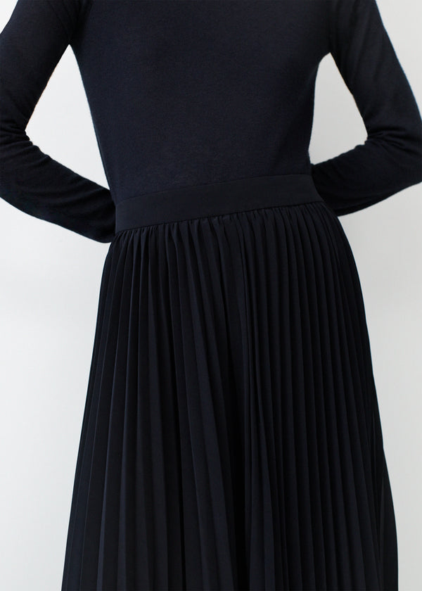 Pleated Skirt - Black - CO Collections