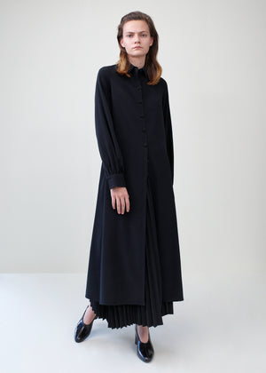 Long Shirt Dress - Black - Co Collections