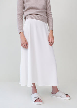 A-Line Skirt - Ivory - Co Collections