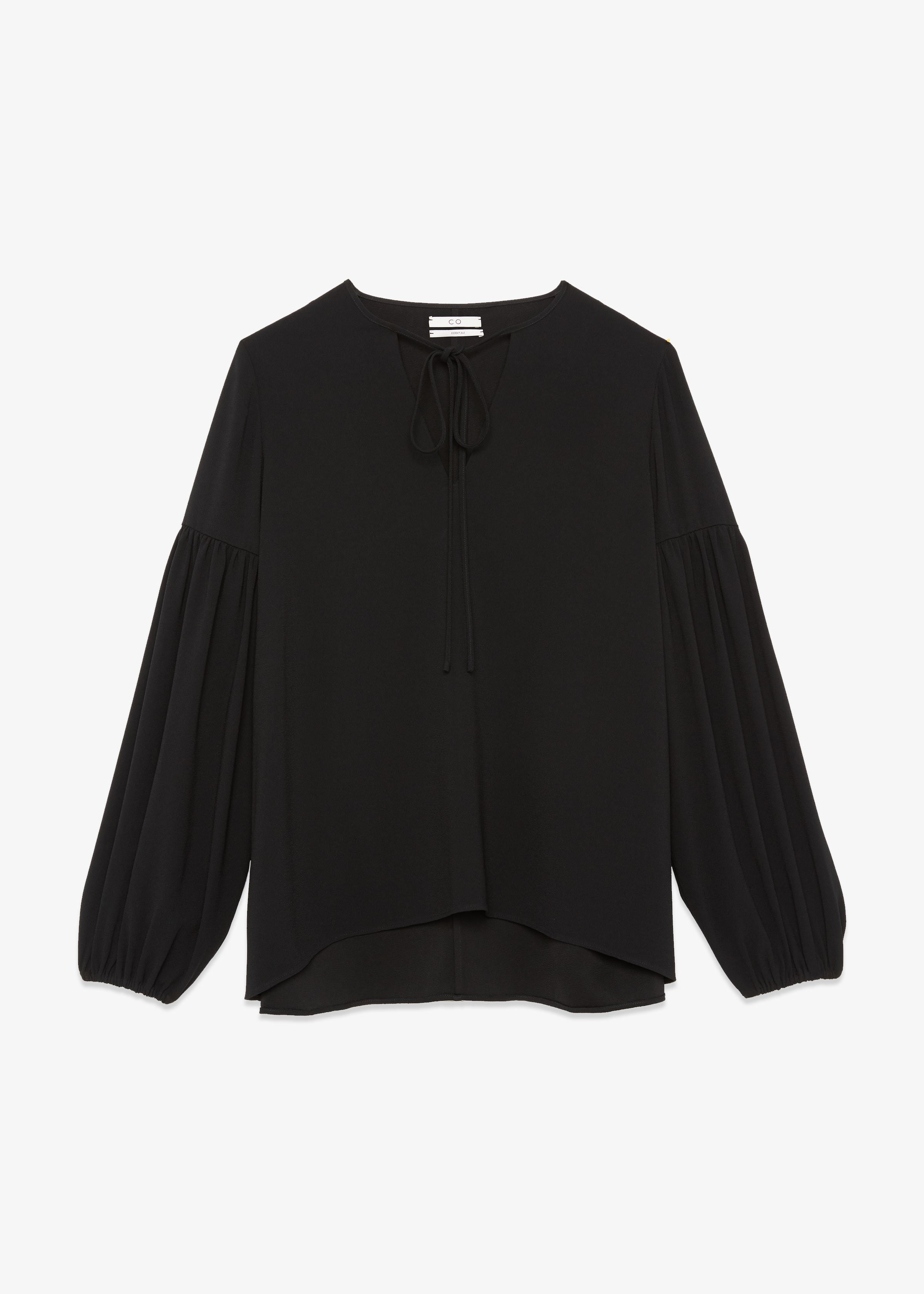 Gathered Sleeve Blouse
