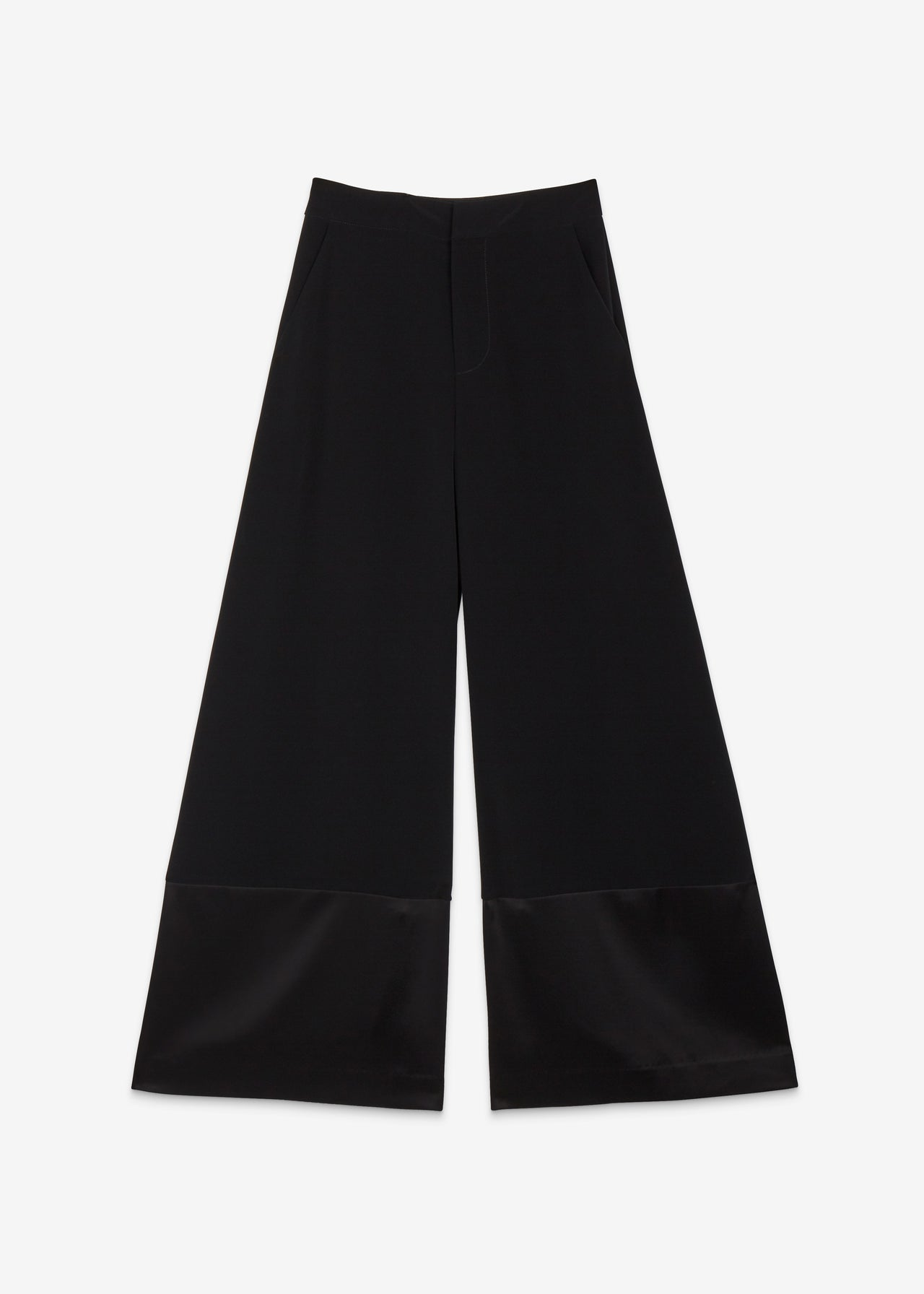 Contrast Hem Pant - CO Collections