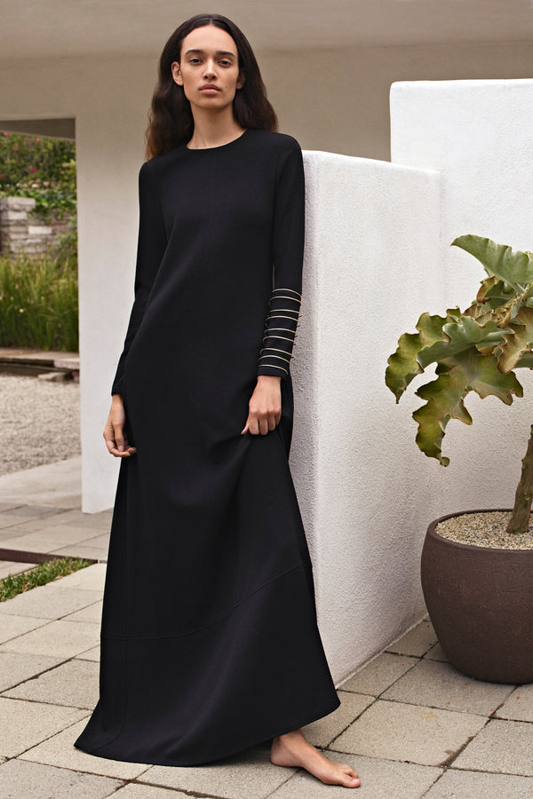 Long Sleeve Pebble Dress - CO Collections