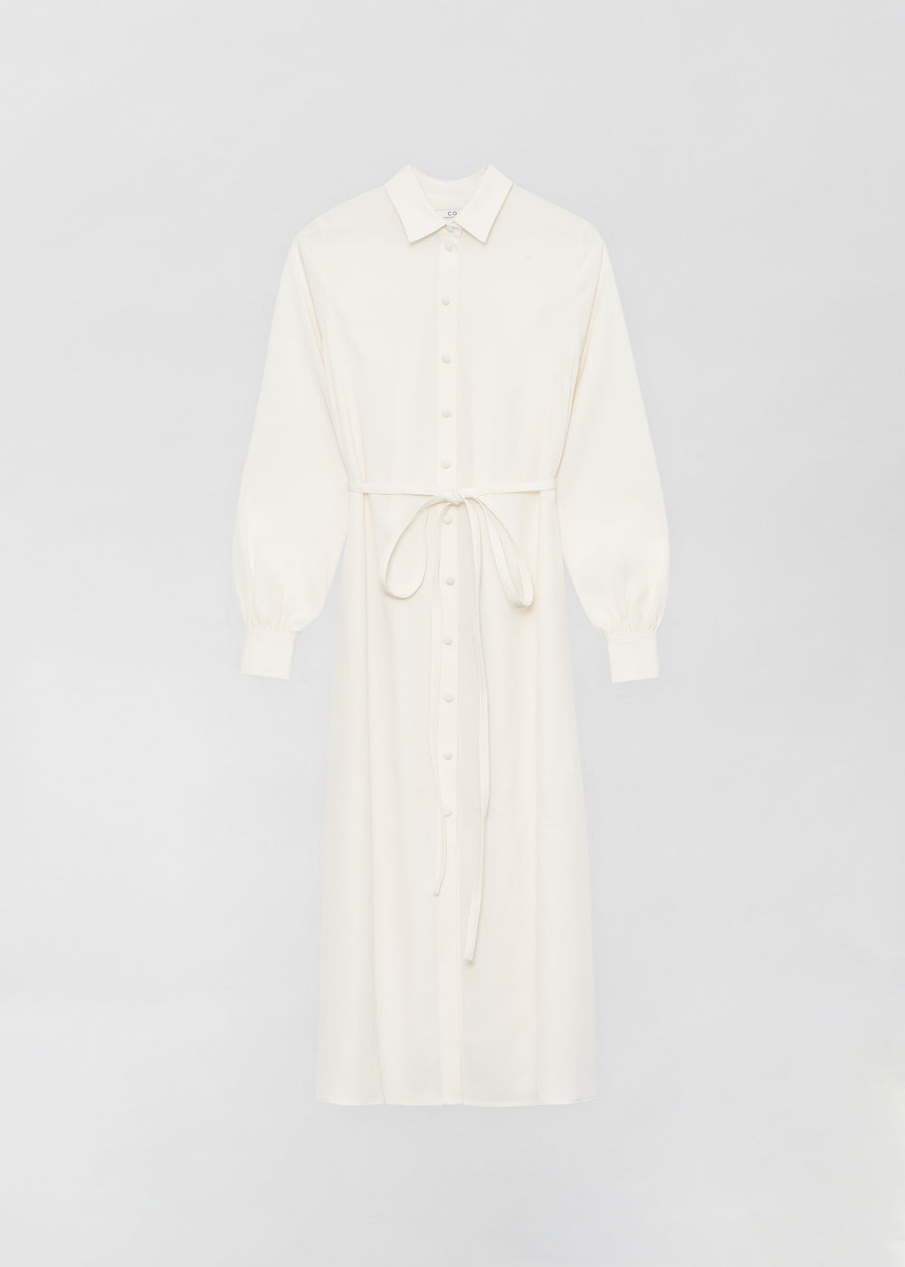 Long Shirt Dress - Ivory - CO