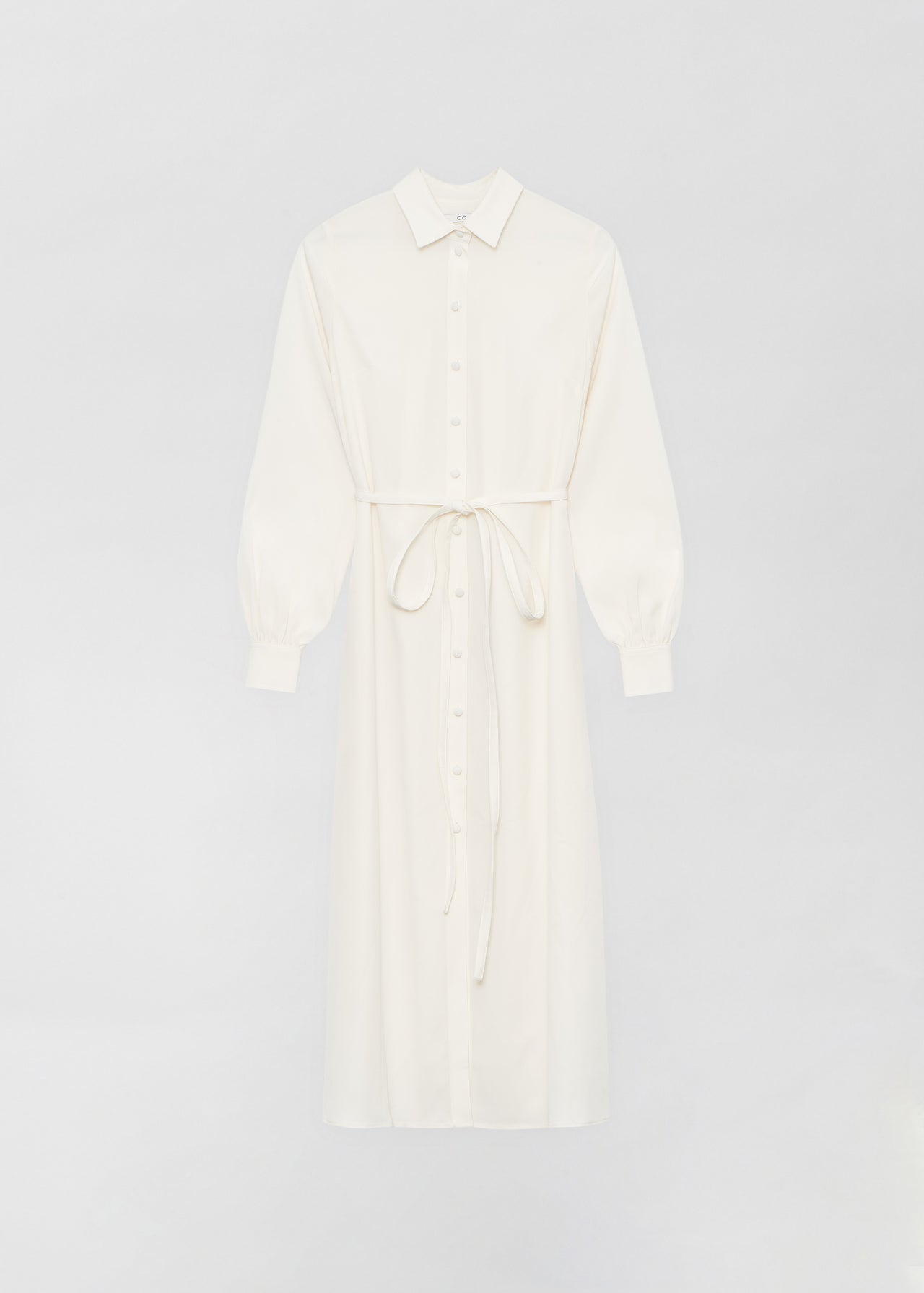 Long Shirt Dress - Ivory