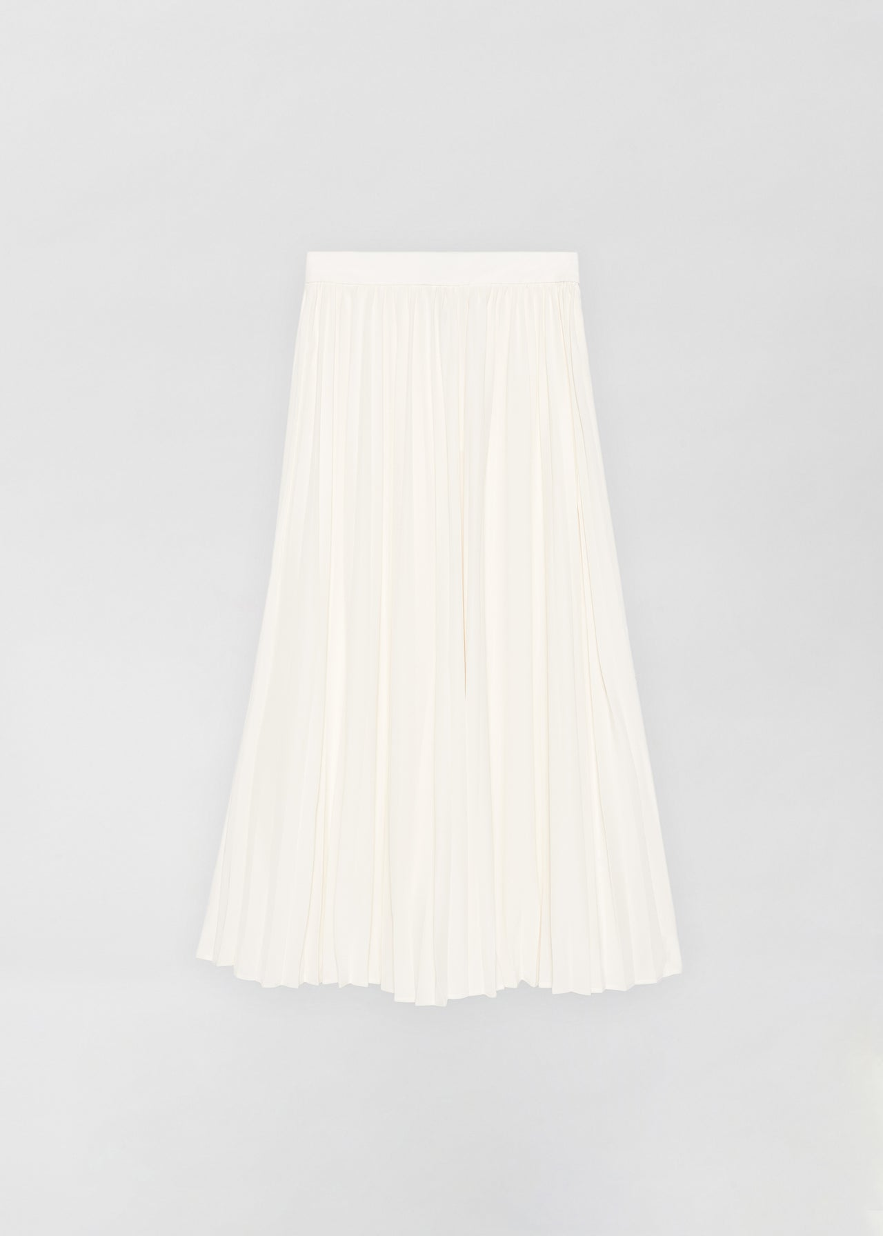 Pleated Skirt - Ivory - CO Collections
