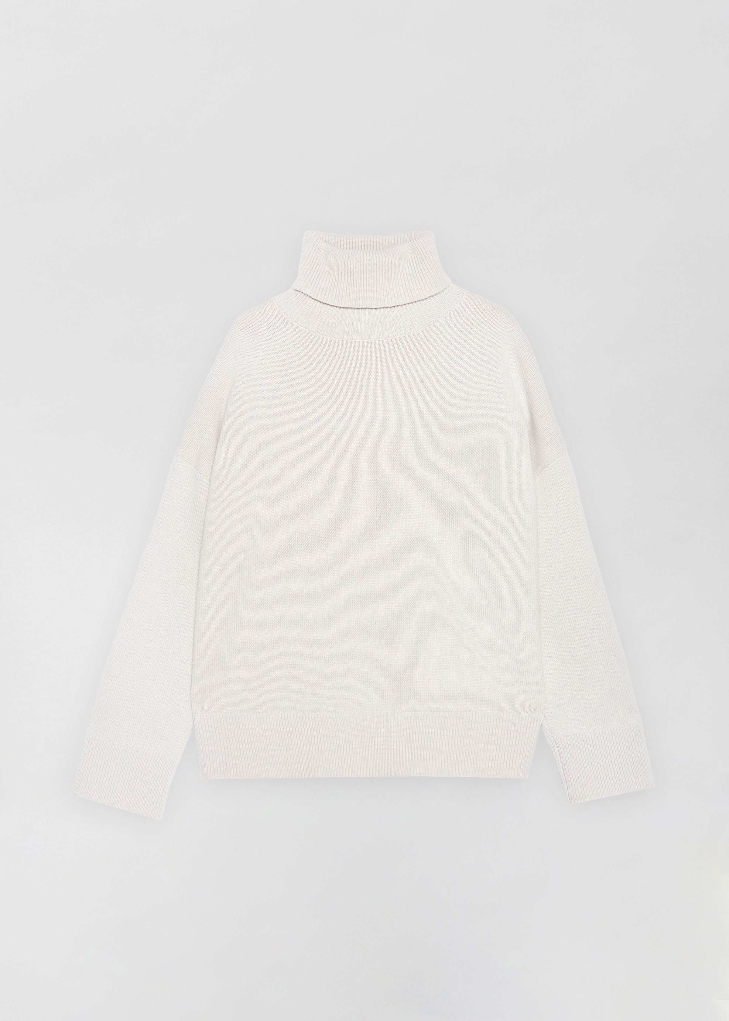 Boxy Turtleneck Sweater - Co Collections