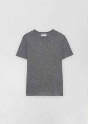 Grey Cashmere T-Shirt and Jogger Pants - Co Collections