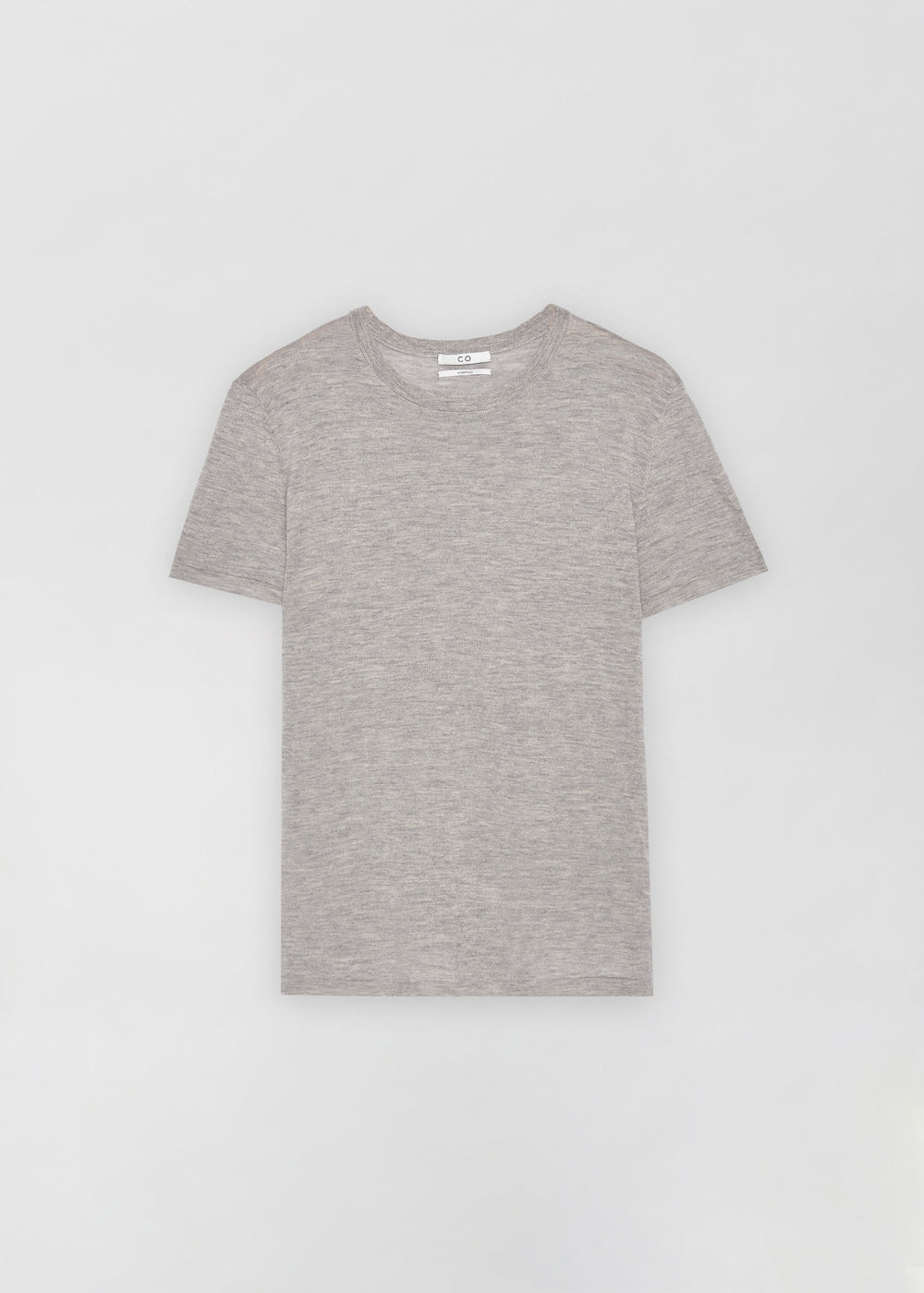 Cashmere T-Shirt - Heather - CO
