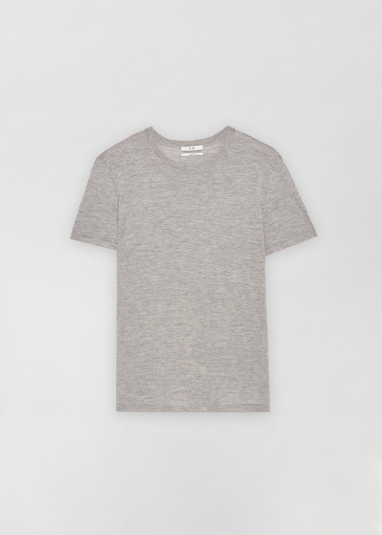 Cashmere T-Shirt - Heather