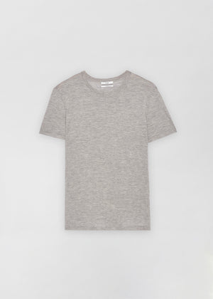 Cashmere T-Shirt - Heather - Co Collections