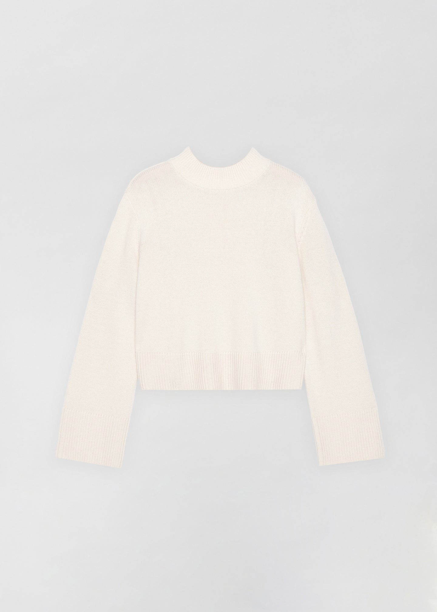 CO - Boxy Crew Neck Sweater - Ivory