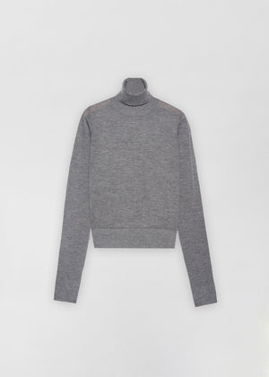 Fitted Cashmere Turtleneck - Co Collections