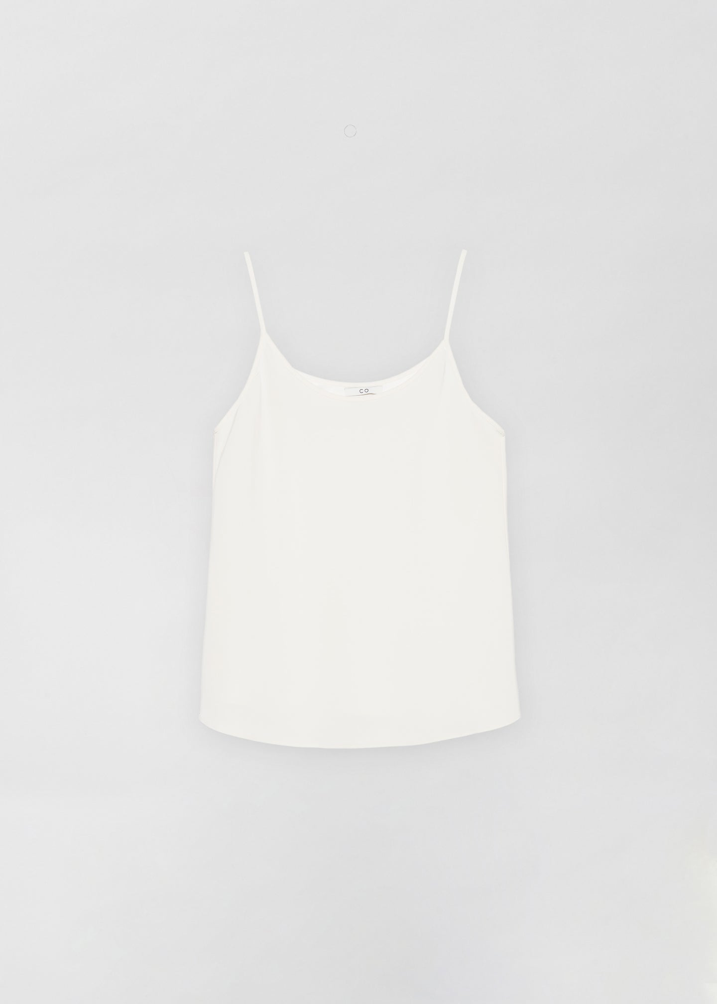 CO - Camisole in Stretch Crepe - Ivory