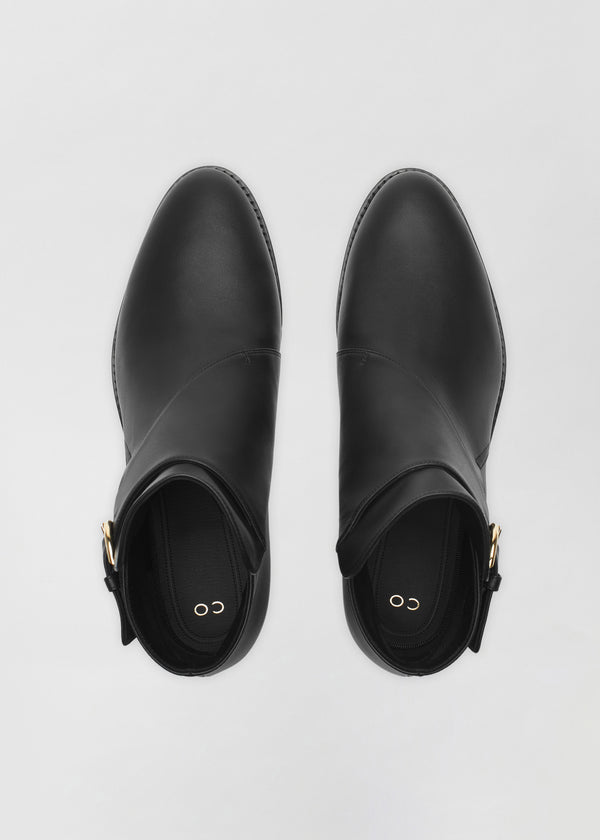 Monk Boot in Smooth Leather - CO Collections