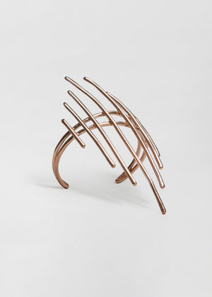 Sculptural Cuff in Bronze - Co Collections
