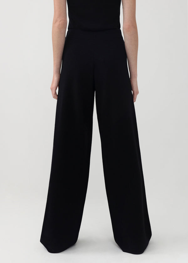 Knit Pants - Black - CO