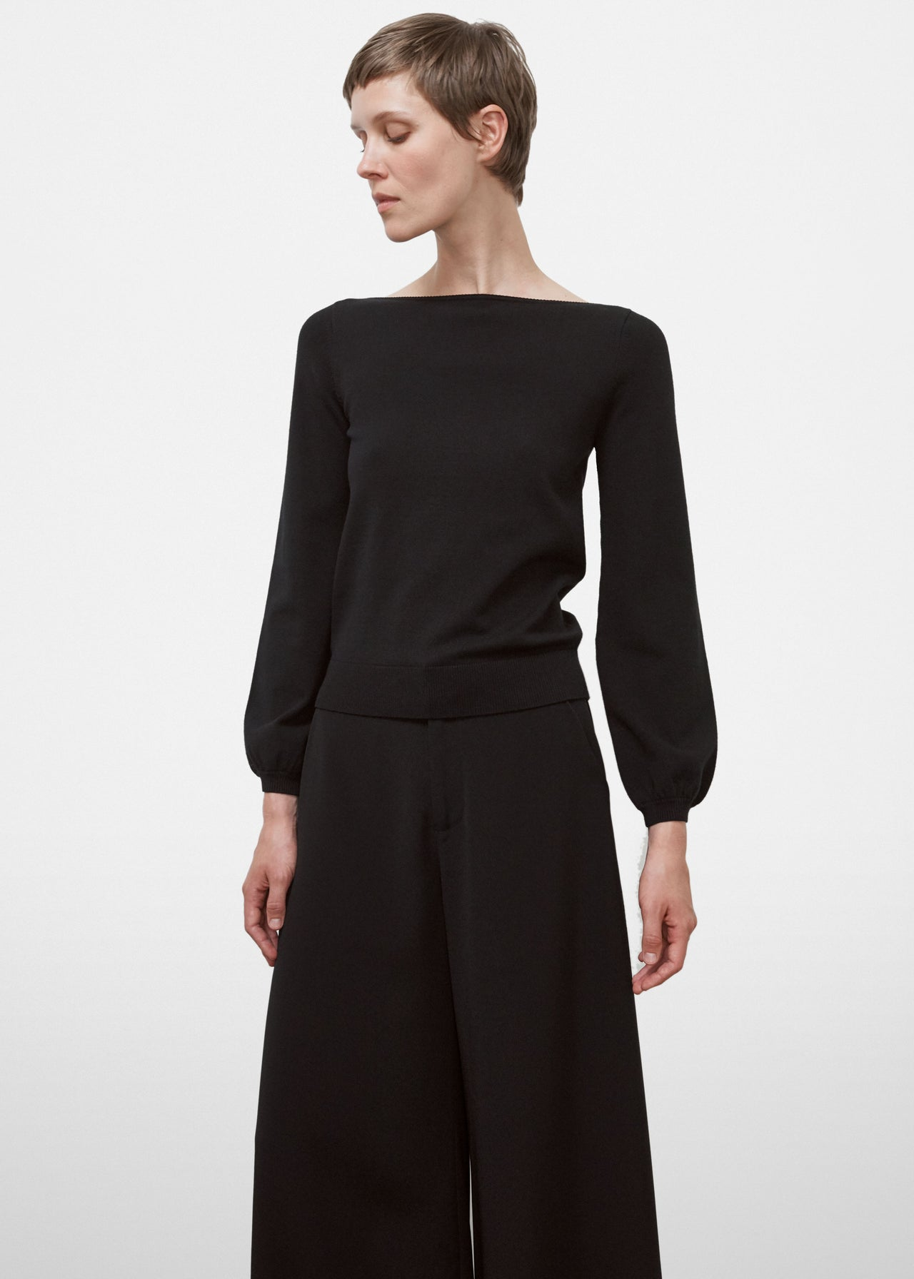 Boatneck Sweater - CO Collections