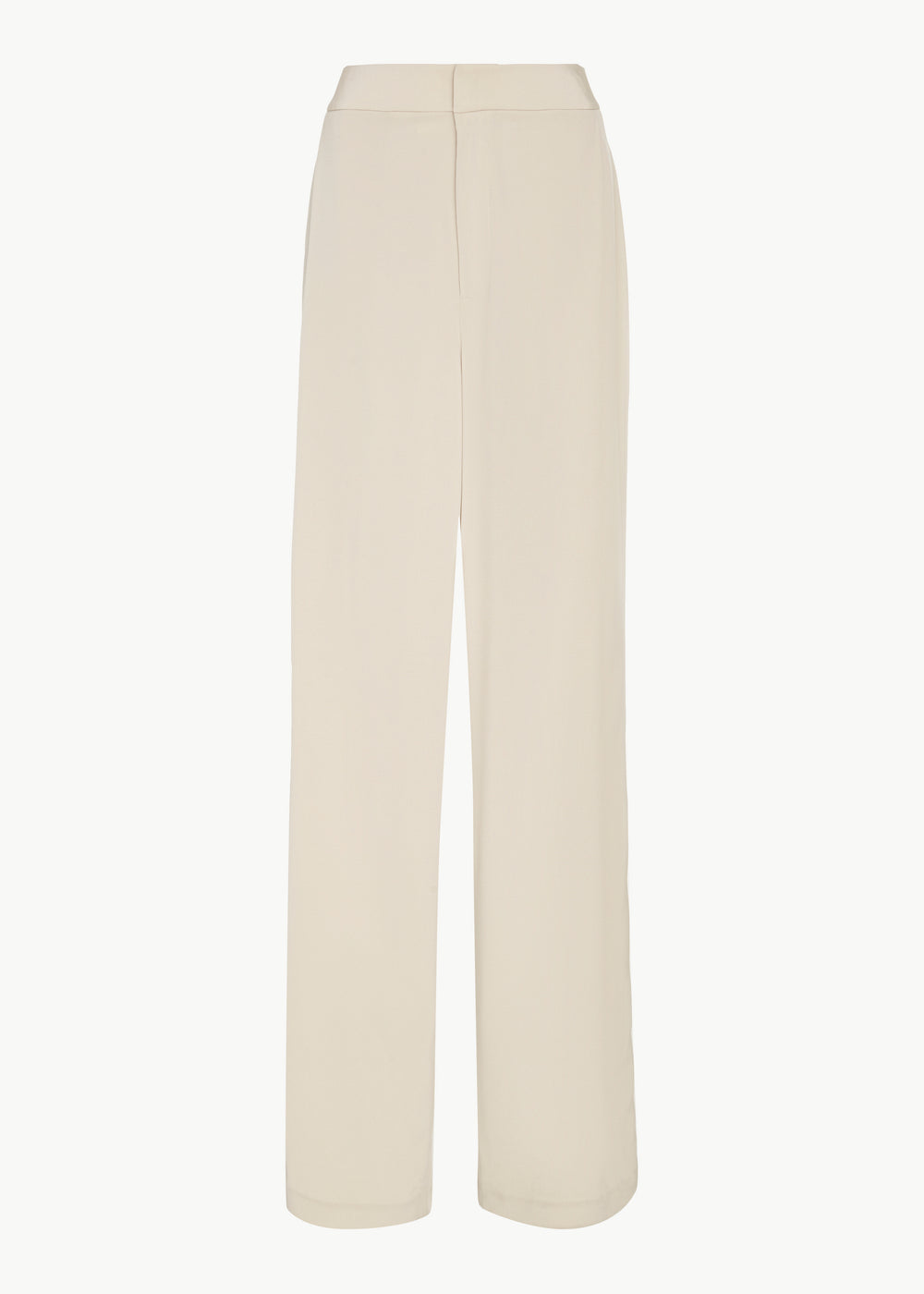 Relaxed Trouser in Stretch Crepe - Champagne - CO