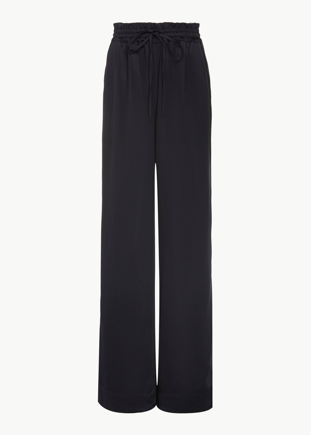 Lounge Pant in Fuji Viscose - Navy - CO