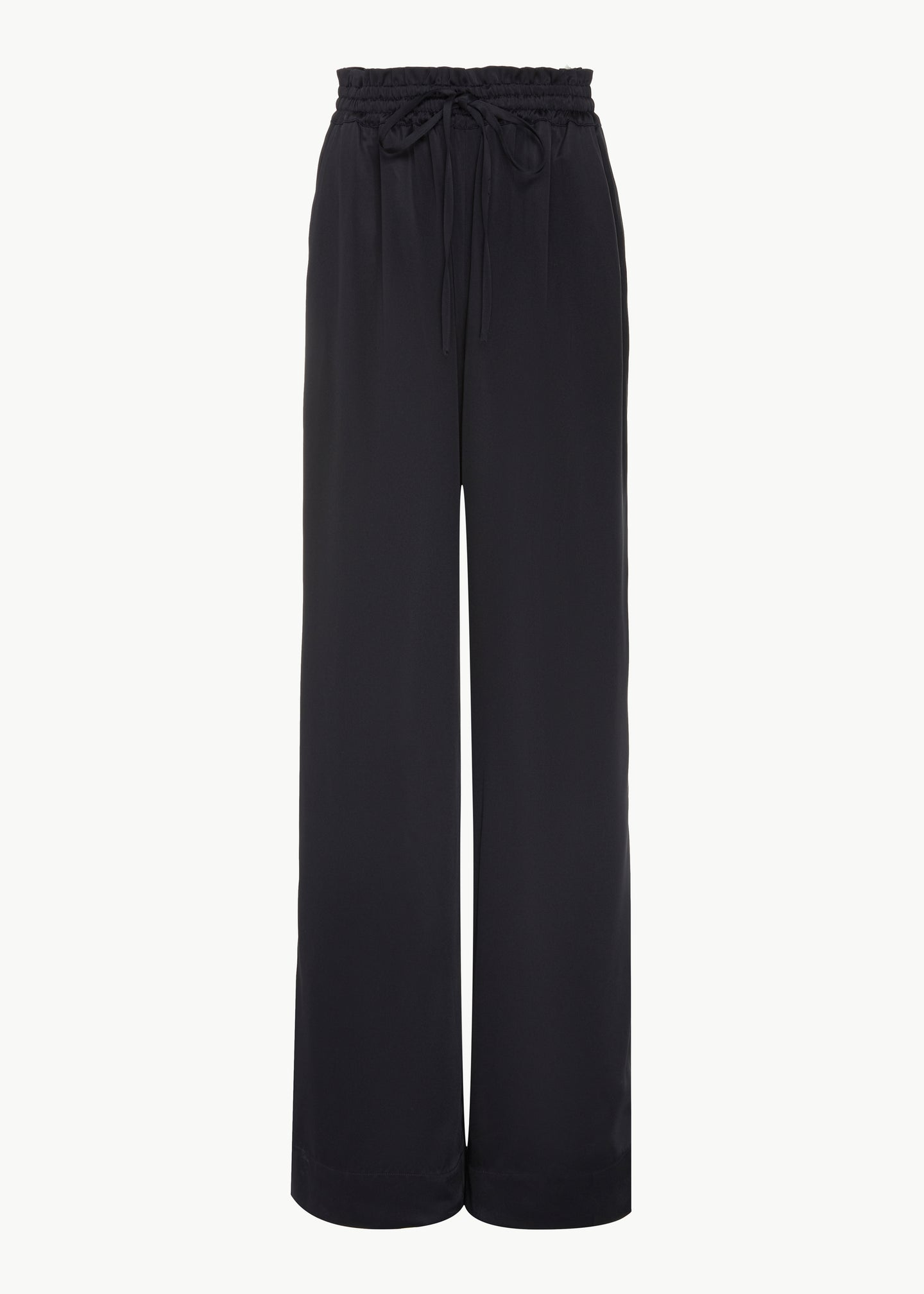 Lounge Pant in Fuji Viscose - Navy - Co Collections