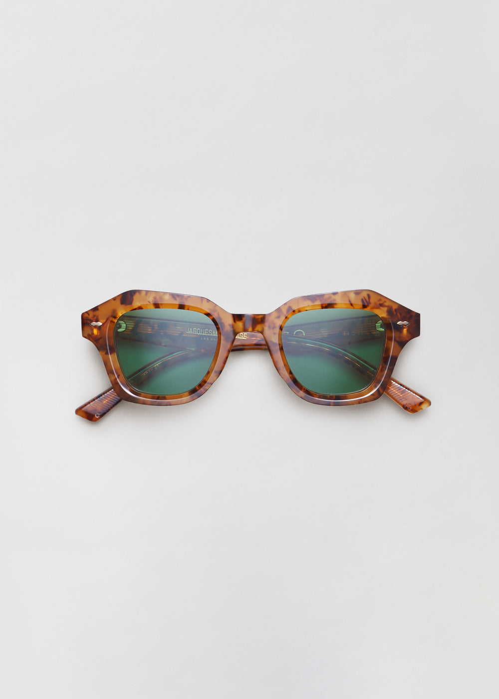 Schindler Sunglasses in Noir in Vintage Tortoise by Co Collections