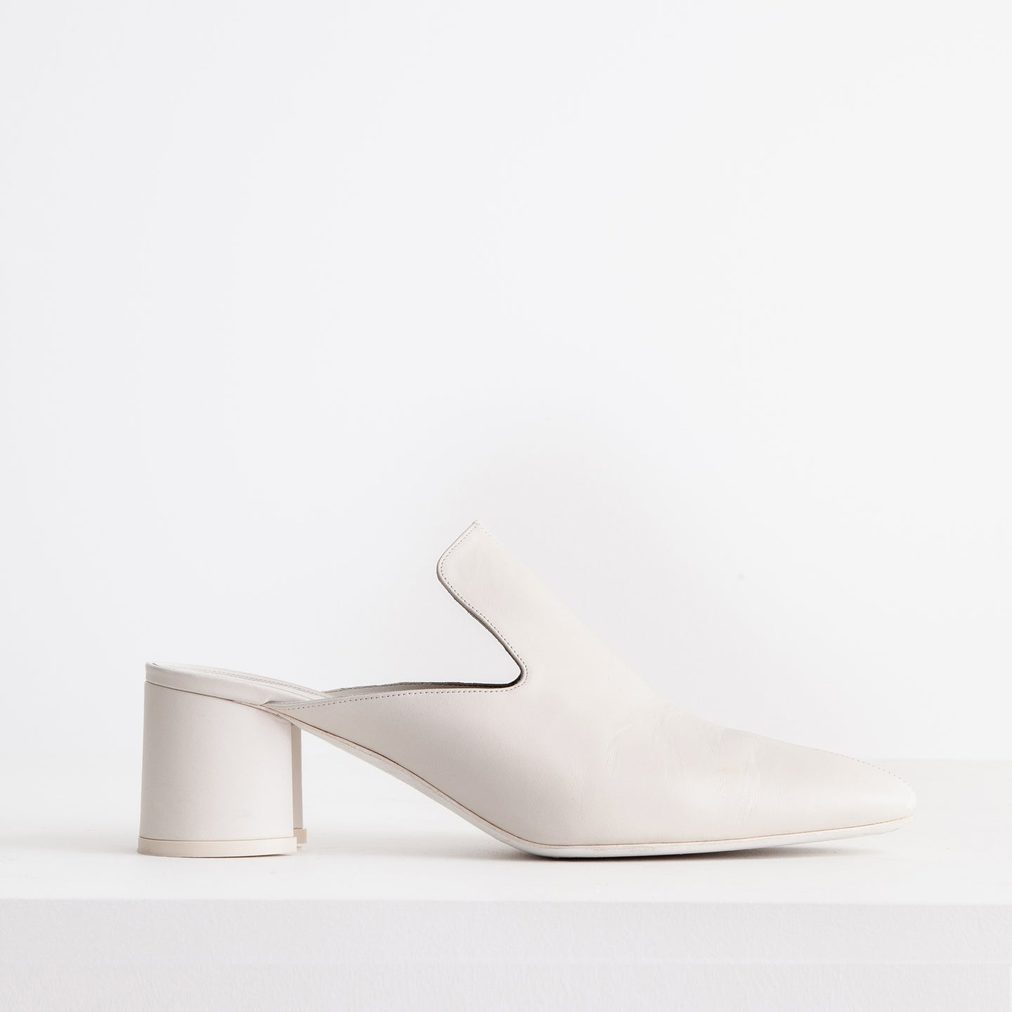 Mule in Ivory Smooth - CO