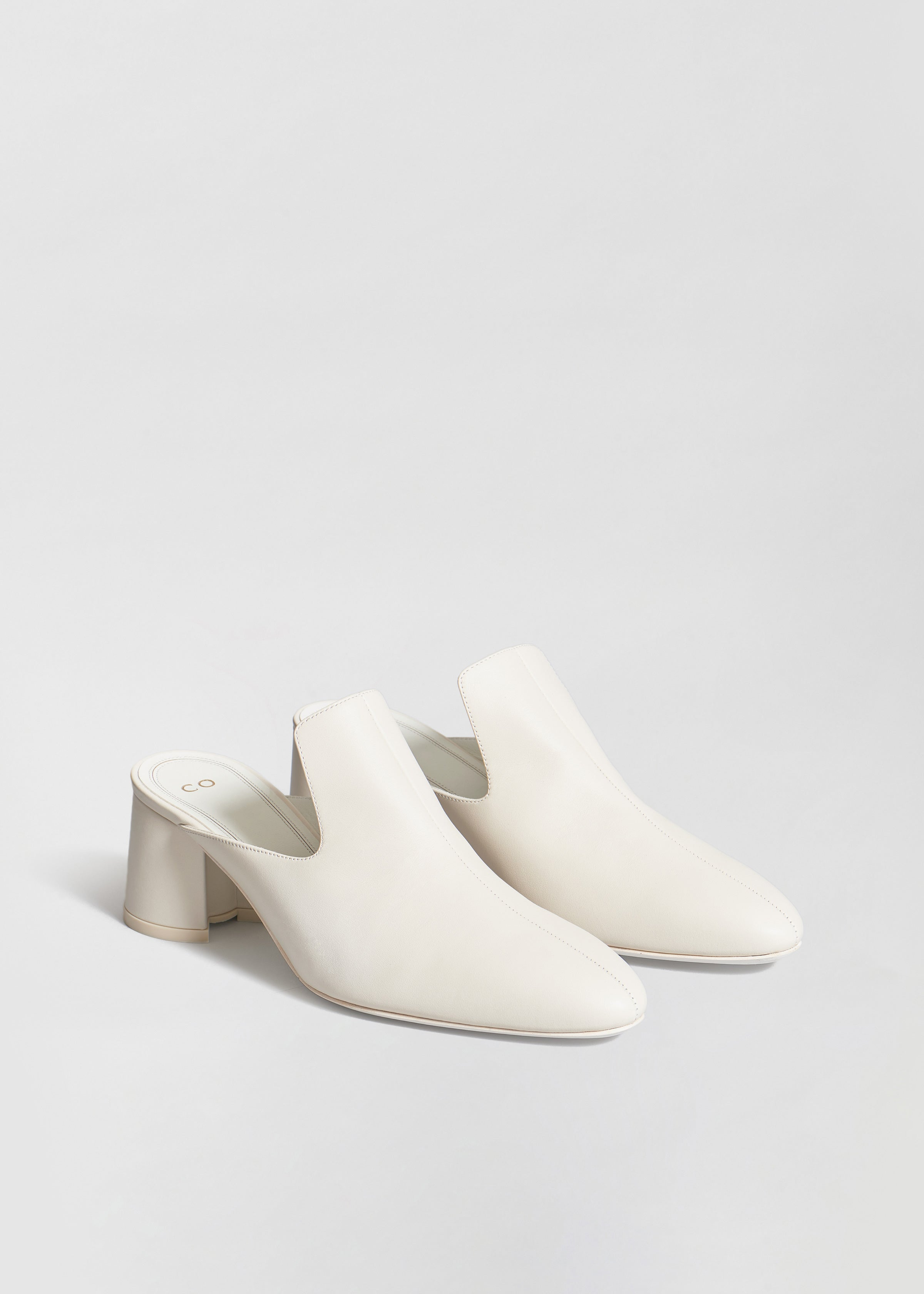 Mule in Smooth Lambskin - Co Collections