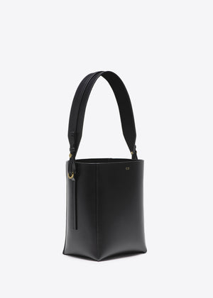Small Bucket Bag in Smooth Leather - Co Collections