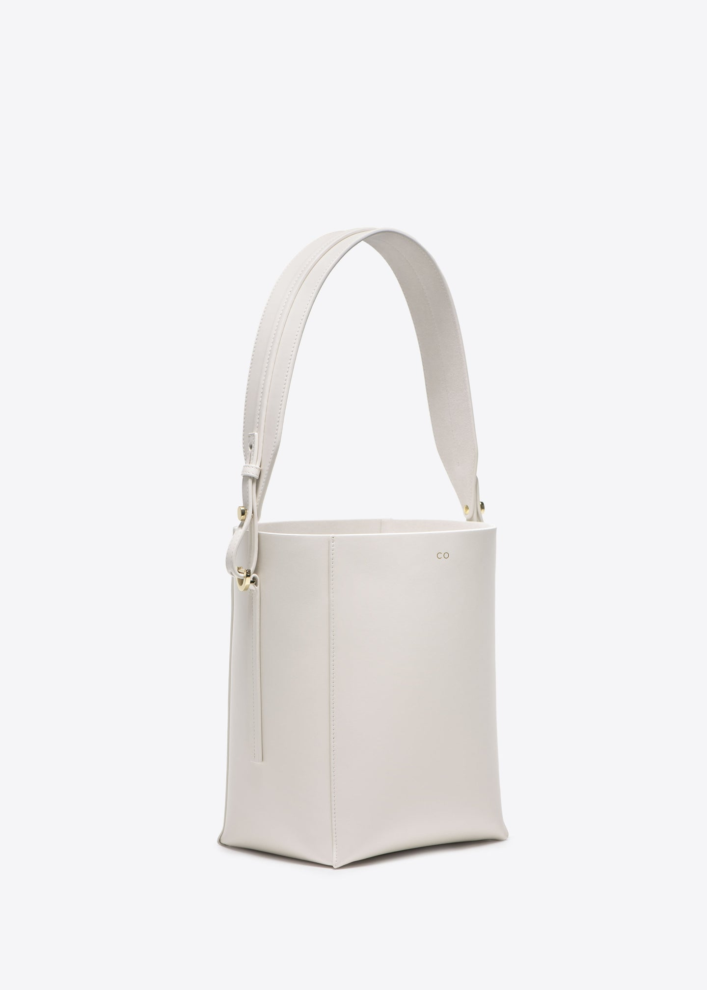 Small Bucket Bag in Smooth Leather - CO