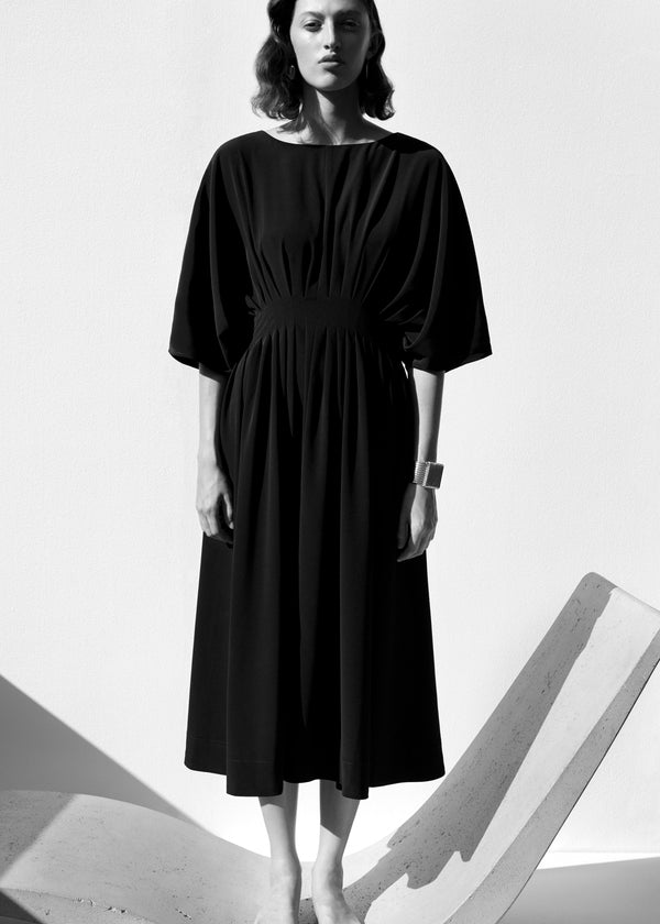 Pleated Waist Dress - CO Collections