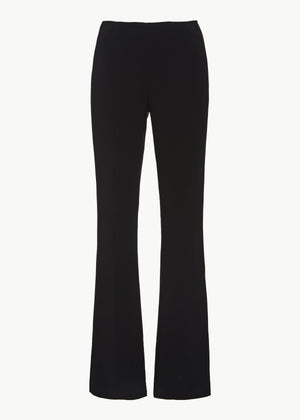 Ankle Pant in Stretch Crepe - Black - CO