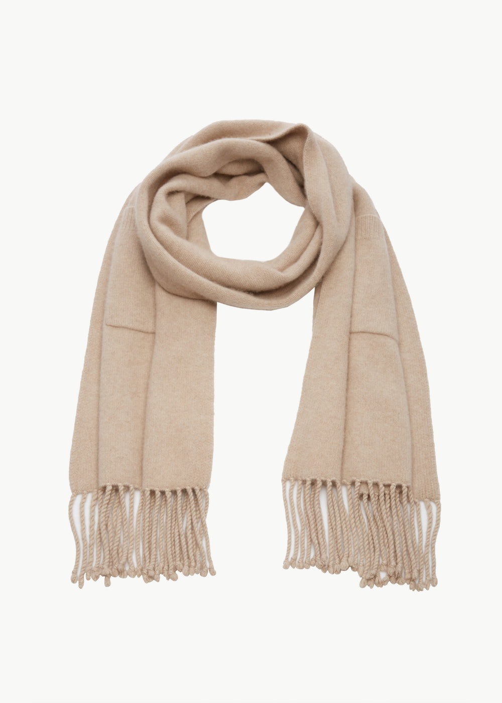 Pocket Scarf in Cashmere - Sand - CO