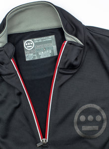 IMPERIUM SERIES HIERO POLY-TECH 1/4 Zip (Black/Red)