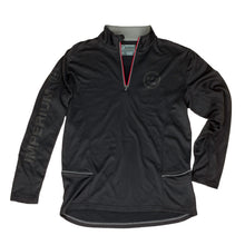 Load image into Gallery viewer, IMPERIUM SERIES HIERO POLY-TECH 1/4 Zip (Black/Red)
