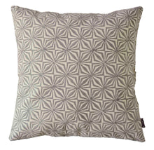 Load image into Gallery viewer, Cushion Cover Facet Grey Organic Cotton