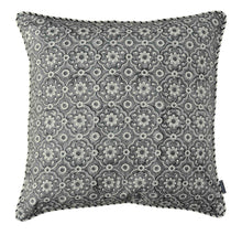 Load image into Gallery viewer, Cushion Cover Organic Cotton - Jali Grey