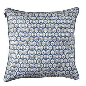Cushion Cover Organic Cotton - Carnation Blue