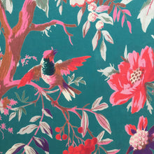 Load image into Gallery viewer, Kimono Floradora Bird Cool Green