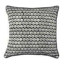 Load image into Gallery viewer, Cushion Cover Organic Cotton - Carnation Black