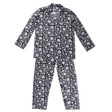 Load image into Gallery viewer, Pyjama Set Block Print Sisodia Black