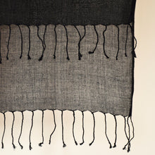 Load image into Gallery viewer, Scarf Twist Cotton Deluxe Black