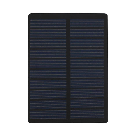 Solar Cell Solar Charger Pane Durable Fast Charger Battery Charger Solar Panel 1.3W 5V Polysilicon Solar Light Travel